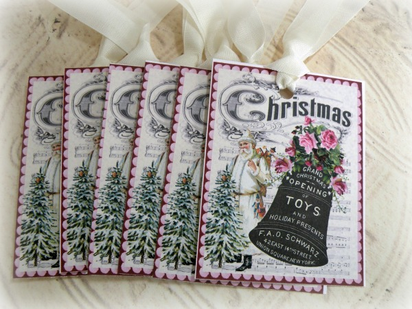 Gift tags Christmas Bell