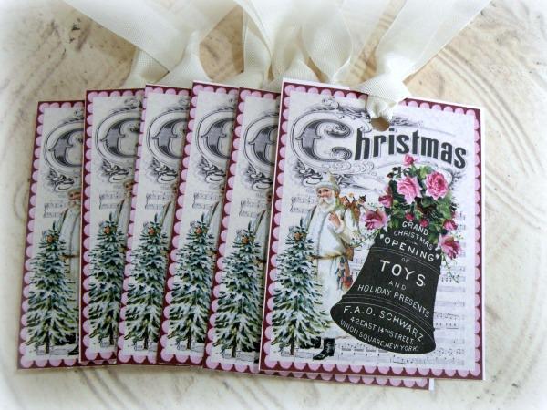 Gift tags Christmas Bell