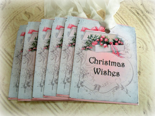 Gift tags Christmas Wishes
