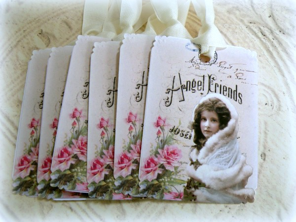 Gift tags Angel Friends