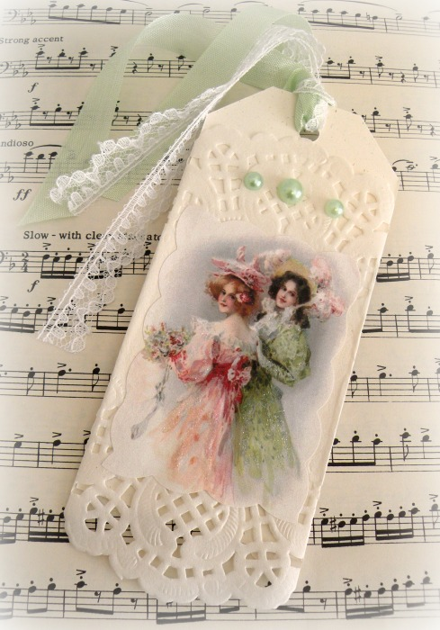 Two Ladies Gift tag