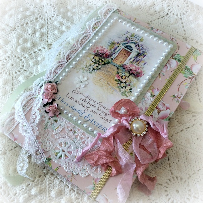 Easter Springtime Embellished Journal
