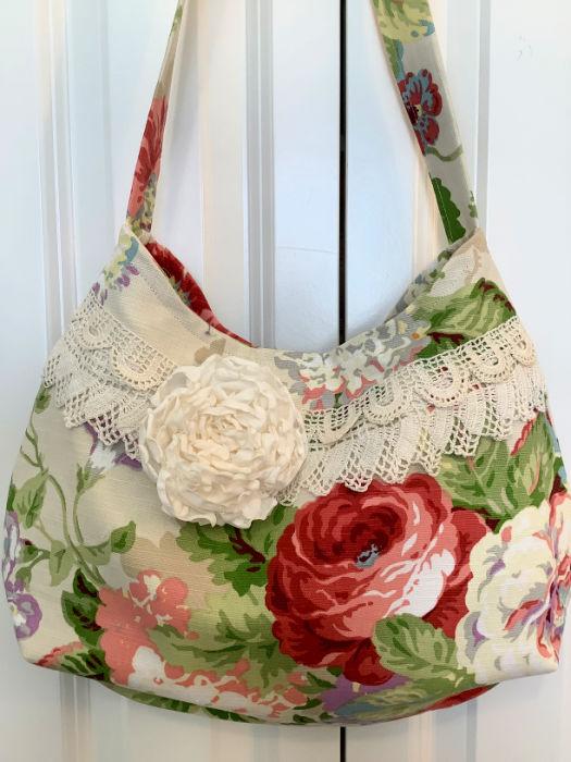 Rose Garden slouchly handbag