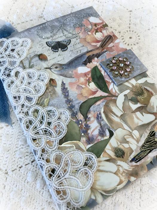 Birds & Roses Embellished Journal