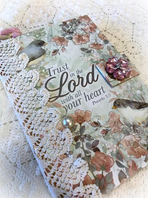 Christian Verse Embellished journal