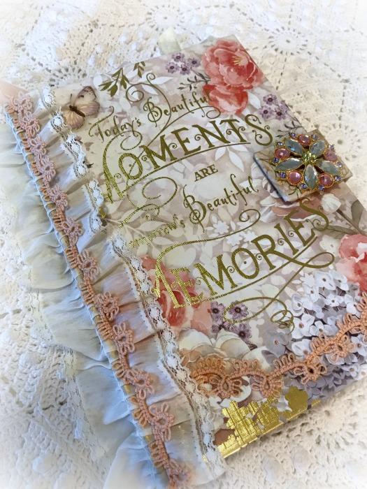 Moments & Memories Embellished Journal
