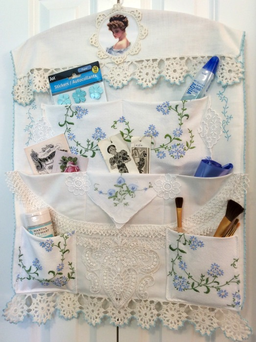 Vintage Embroidery/Crochet Organizer