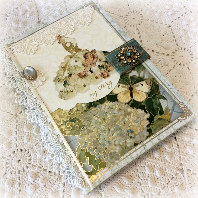 Your Story Birds and Butterflies theme Embellished Journal