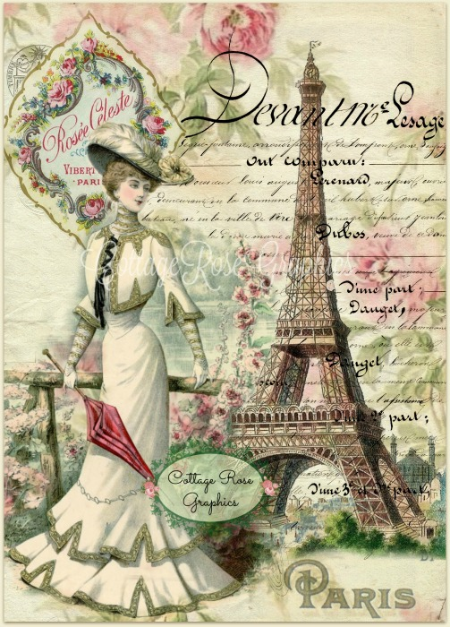 Paris in the Summer art print
