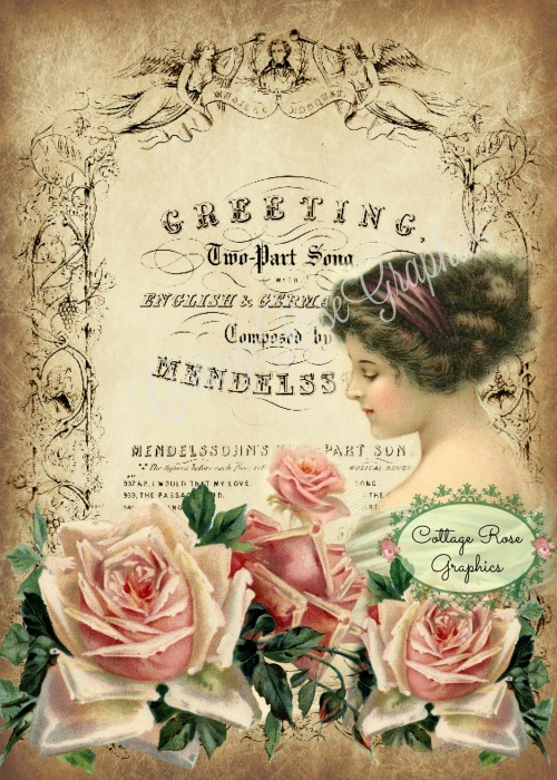 Vintage Greetings art print